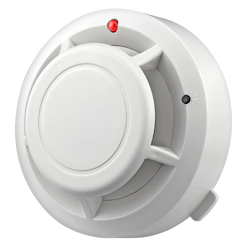 ABKT-Independent Alarm Smoke Fire Sensitive Detector Home Security Wireless Alarm Smoke Detector