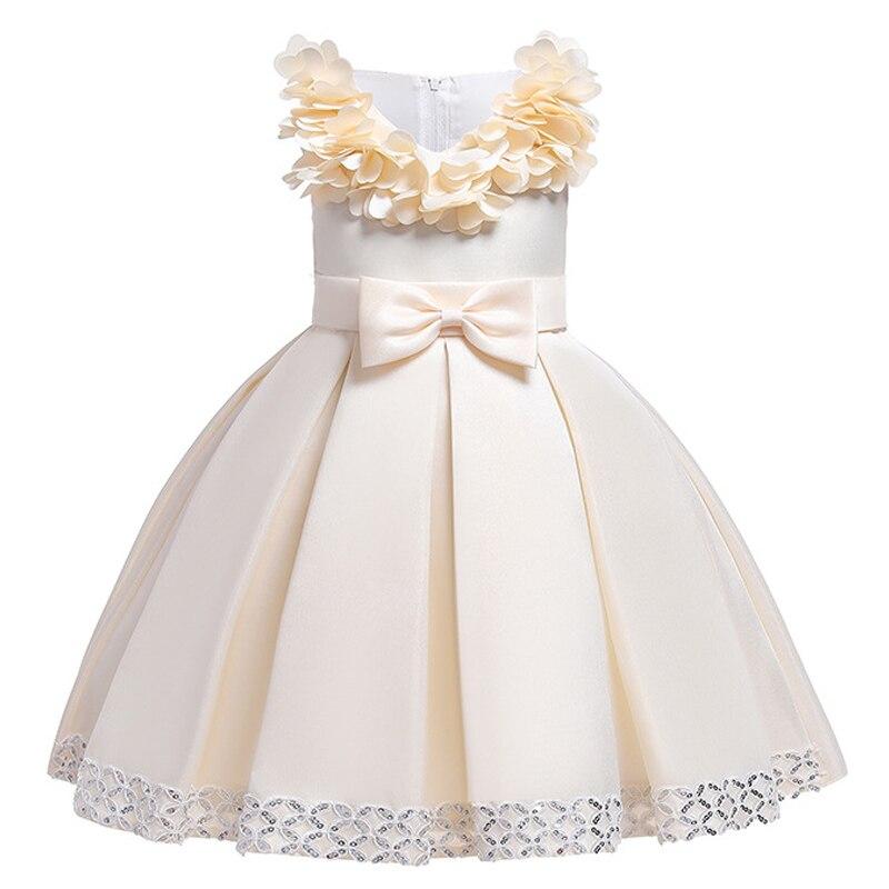 Hfb866d65e7a2424b87d41de9996b77c30 Kids Dresses For Girls Elegant Princess Dress Christmas Children Evening Party Dress Flower Girl Wedding Gown vestido infantil
