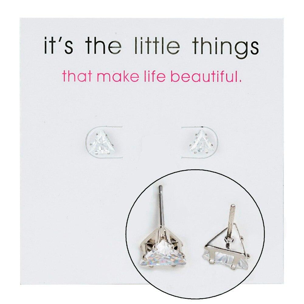 12 Pairs/set Stud Earrings Set With Card Transparent Zircon Balls Love Flowers Earrings Women Imulated Pearl Earrings Jewelry 125