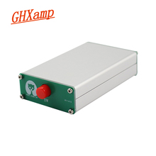 Ghxamp 3.5mm Audio signal switcher 2 input 1 output Selector With aluminum shell headphone audio Switch board 1pc