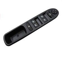 Botão elétrico do interruptor de controle do regulador da janela do carro para peugeot 307 2004 - 2013
