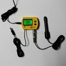 דיגיטלי LCD באינטרנט pH מטר אקווריום מים באיכות בודק צג Analyzer עם מדחום pH טמפרטורת תצוגת O24 19