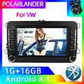 2 Din Wifi MP5 плеер 7 ''Mirror Link автомобильное стерео радио GPS Navi Android для Bora Golf VW Polo Volkswagen Passat B6 B7 Touran