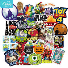 10/50 Stuks Disney Toy Story Stickers Waterdicht Skateboard Gitaar Laptop Bagage Auto Cool Cartoon Pixar Sticker Meisje Kids speelgoed Gift