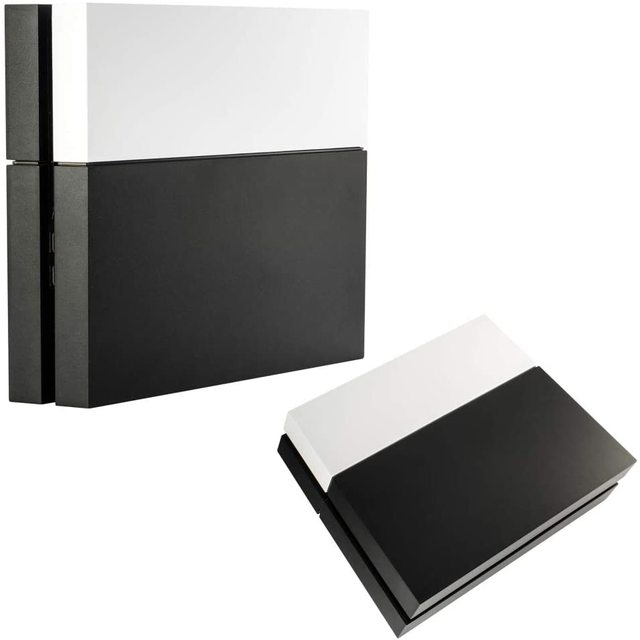 PS4 Solid Matte Black HDD Bay Hard Drive COVER SHELL Case REPLACEMENT Faceplate สำหรับ PlayStation 4 คอนโซลเกม Acccessories