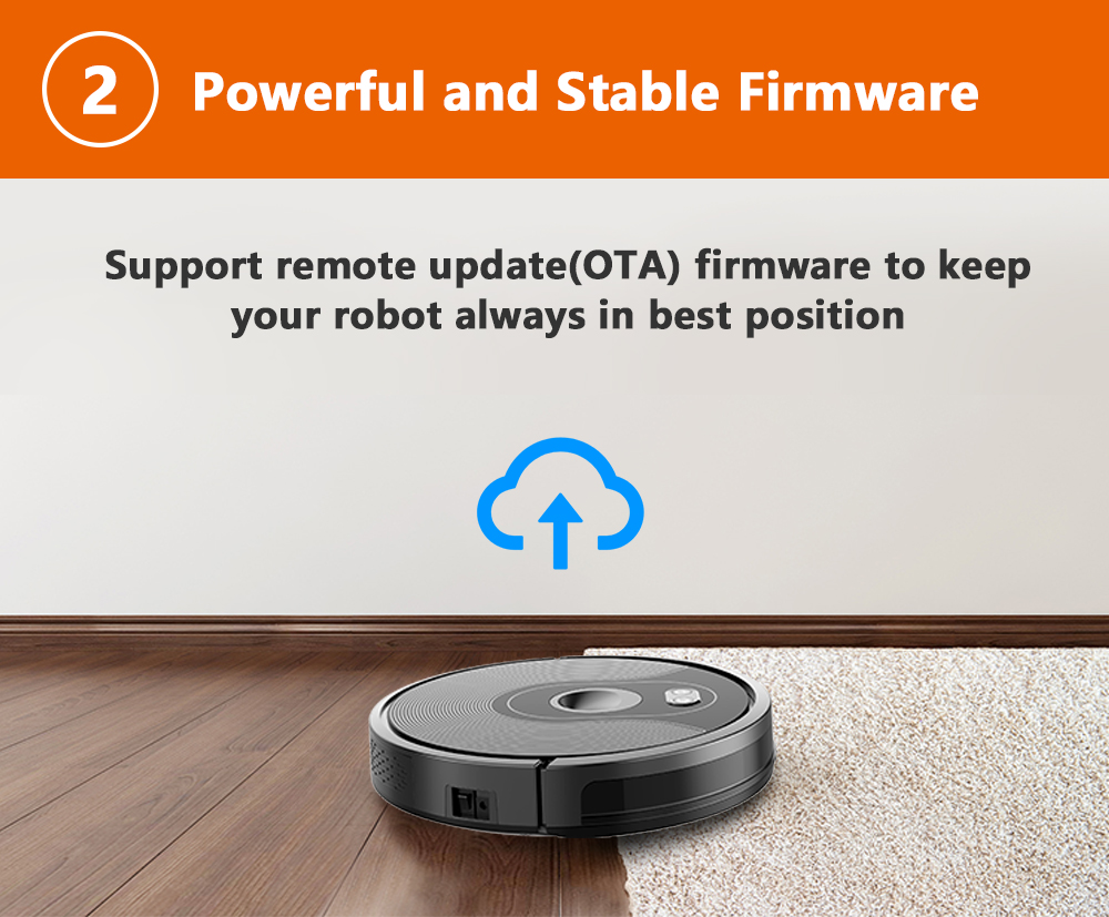 Hfb879a89f63e48d686511b486111a74ek ABIR X6 Robot Vacuum Cleaner with Camera Navigation,WIFI APP controlled,Breakpoint Continue Cleaning,Draw Cleaning Area,Save Map