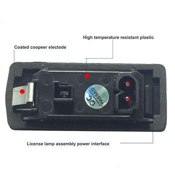 LED auto Kentekenplaat Verlichting numer plaat houder lamp Voor BMW E81 E82 E90 E91 E92 E93 E60 E61 E39 x1 E84 X5 E70 X6 E7 auto licht