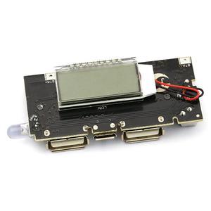 Image 4 - Bảo Vệ Tự Động! 2 Cổng USB 18650 Sạc Pin PCB Mô Đun Nguồn 5V 1A 2.1A Điện Di Động Ngân Hàng Điện Thoại DIY LED Màn Hình LCD mô Đun