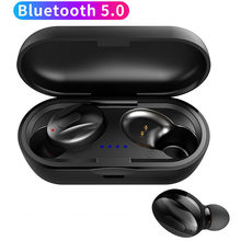 TWS Wireless Earphones Bluetooth 5.0 Bass Headset with HD Mic and Charging Case Earbud for Phone PC Xiaomi Huawei IPhone Samsung(China)