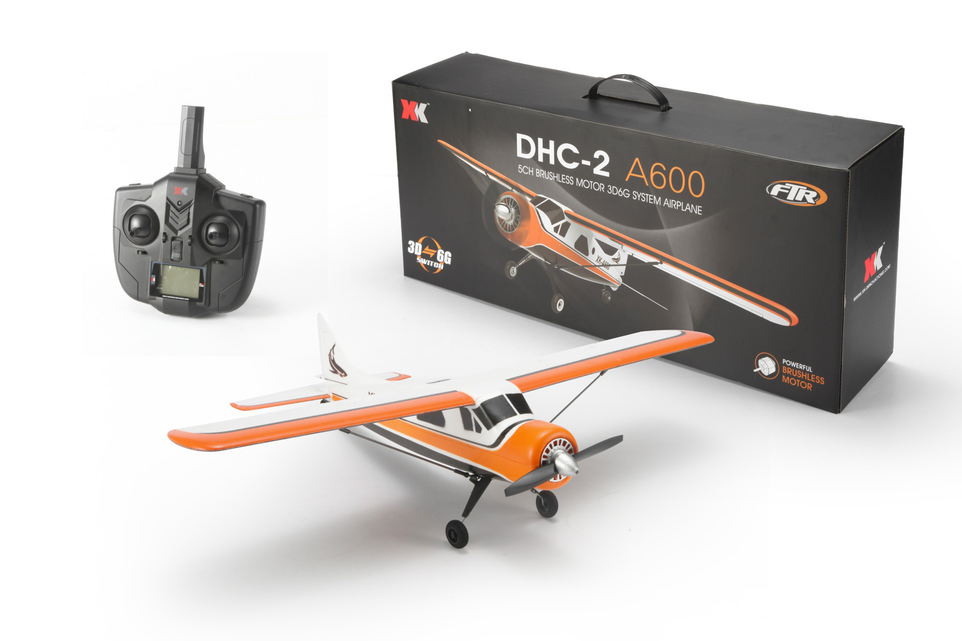 Weili XK A600 Brushless Motor Remote-control Drone Brushless Glider Model Toy Unmanned Aerial Vehicle