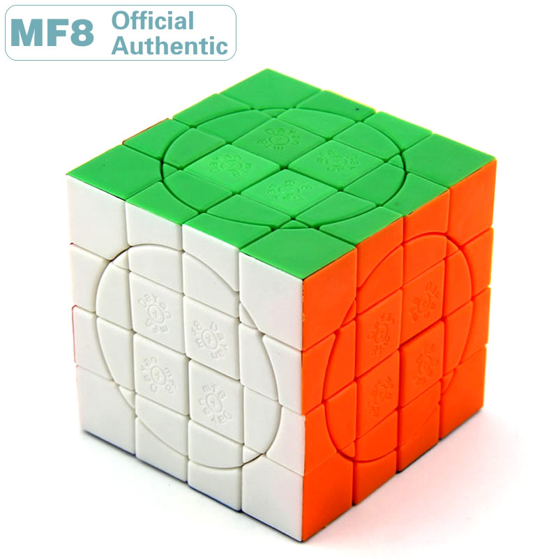 MF8 + Dayan Crazy 4x4x4 Plus Magic Cube V3 Super 4x4 Professional Speed Puzzle Twisty Brain Teaser Educational Toys For Children