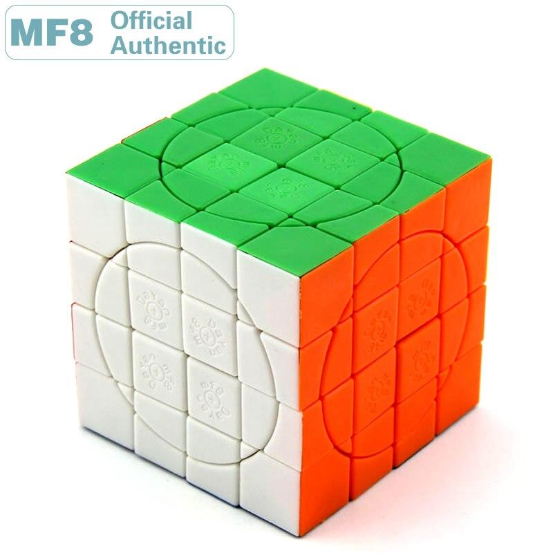 MF8 + Dayan Crazy 4x4x4 Plus Magic Cube V3 Super 4x4 professionnel vitesse Puzzle Twisty cerveau Teaser jouets éducatifs pour les enfants