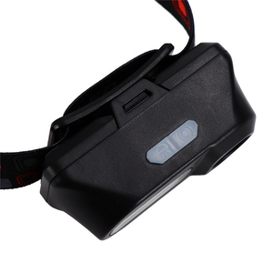 Image 4 - Mini portable outdoor camping XPE + COB LED headlight emergency head mounted flashlight with USB charging headlight flashlight