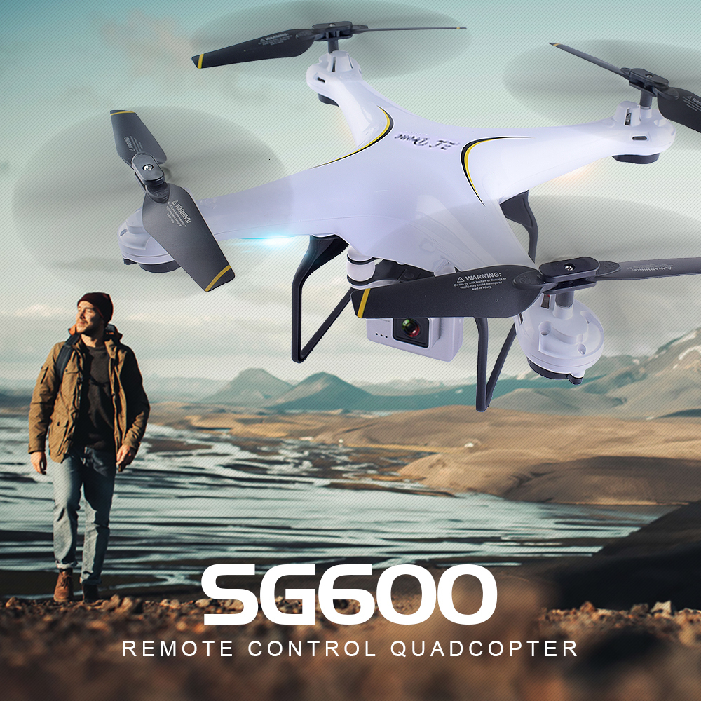 SG600 RC Drone 2.4G FPV RC Drones with Camera 2MP WIFI Selfie RC Drone Helicopter with Camera VS X5SW X5HW X5C E58 XS809HW image