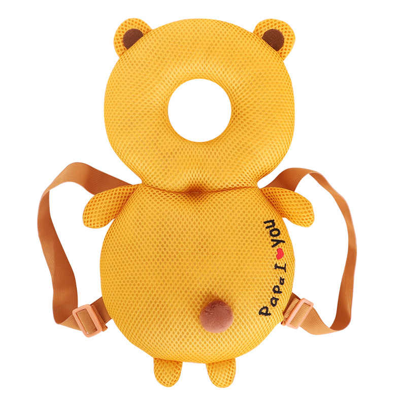 Baby Antifall Head Protection Cushion Reduce Hurt From Walking Running Game Fall Down Help Children Growing PP Cotton Safe Pad