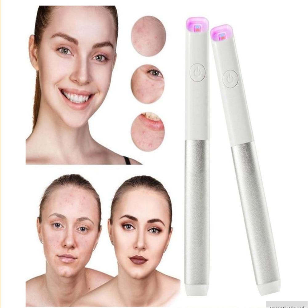 Spectrum Micro-electrical Instrument Seamless Blu-ray Acne Pen Eye Massager To Eye Bag Dark Circle Eye Massager Eye Meter