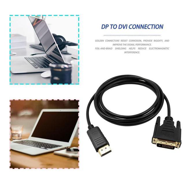 кабель dp dvi «папа папа» адаптер для подключения порта дисплея фотография