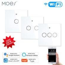 Новый Улучшенный wifi smart rf433 сенсорный выключатель 2/3