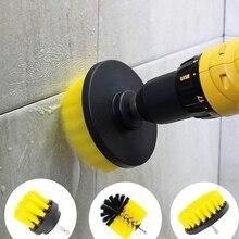 Bohrer Pinsel Alle Zweck Reiniger Schrubben Pinsel für Bad Oberfläche Mörtel Fliesen Badewanne Dusche Küche Reinigung Werkzeuge