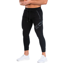 YEMEKE Mens Casual Fitness Joggers trousers Gyms Stretch Cotton Men Skinny Sweatpants Slim Workout Quick-dry compression pants