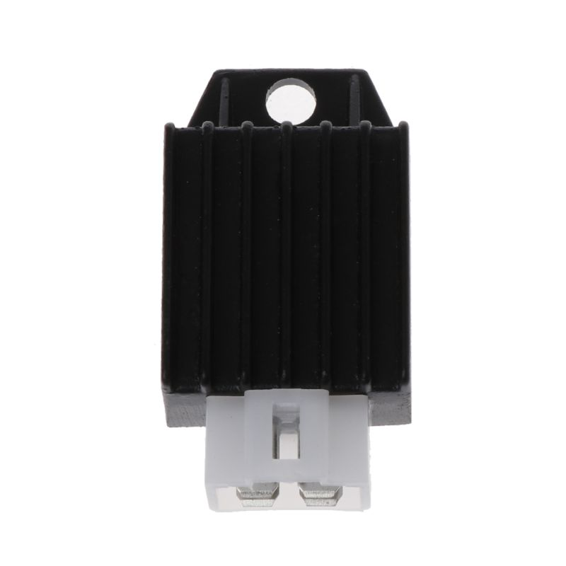 12V 4Pin Motorcycle Voltage Regulator Half-Wave Rectification For Buggie GY6 50cc 125cc 150cc Moped Scooter Rubber + Plastic
