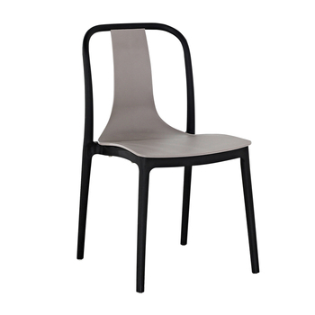 Chair simple modern adult net red back plastic dining chair outdoor leisure negotiation office chair home dining table and chair