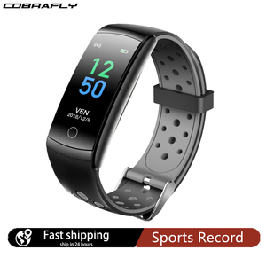 Image 1 - Cobrafly Q8 Smart Watch Men Women Heart Rate Monitor IP68 Waterproof Band Fitness Tracker Watches for Xiaomi Huawei Apple Phone
