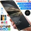 Глобальная версия Mate45 Pro + смартфон 7,2 дюймов полный Экран Octa Core 24MP + 48MP 8 Гб 256 4 аппарат не привязан к оператору сотовой связи 5G сети мобильный ...