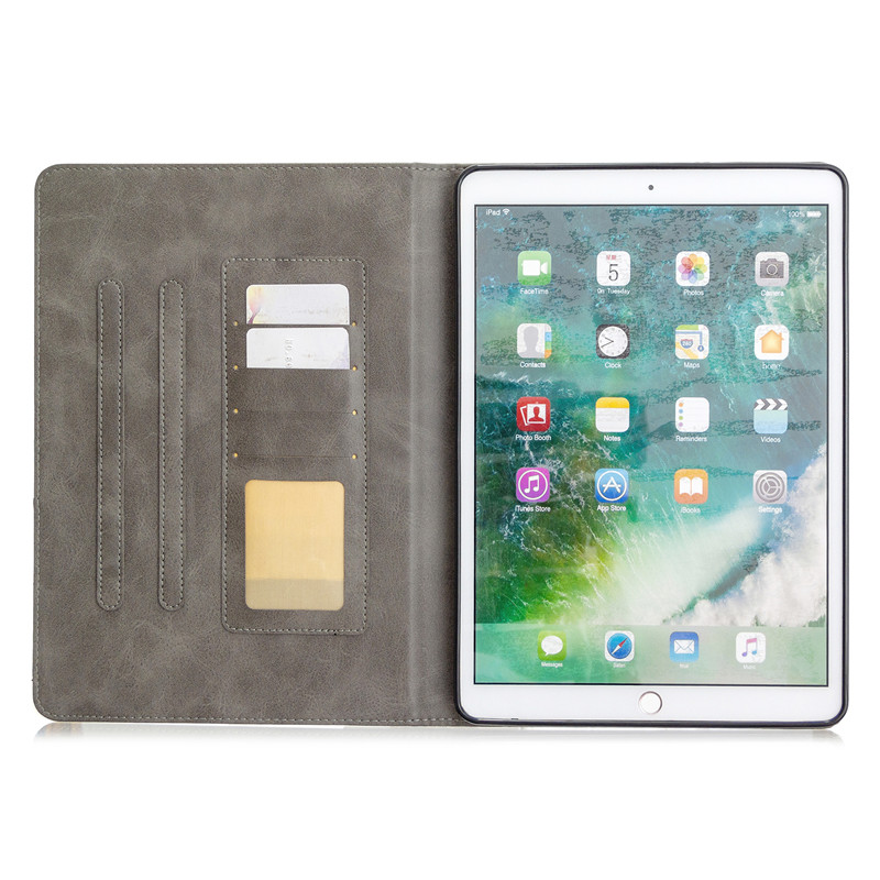 iPad Wallet iPad For 2019 10.2 Flip PU Tablet Stand Luxury For 10 Leather Funda Case