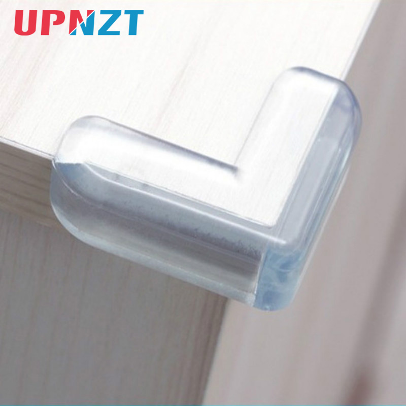 4Pcs Baby Safety Thicken L Shape Transparent Protector Cover Table Corner Guards Children Protection Furniture Edge Corner Guard