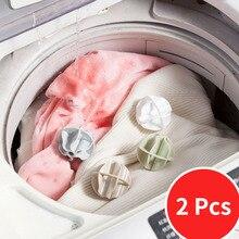 Laundry-Ball Bathroom-Accessories Portable Plastic 2pcs Anti-Winding Super-Magic