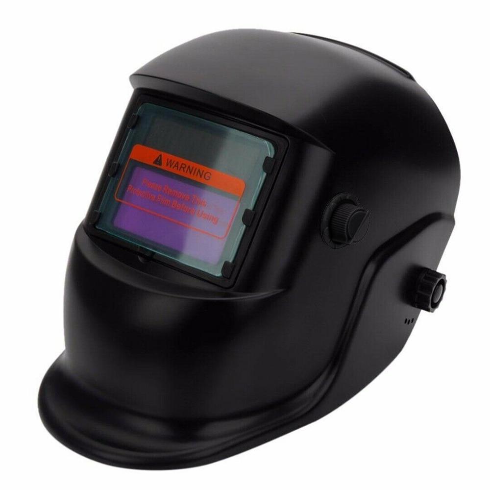 High Quality Solar Auto Darkening Welding Helmet Automatic Welding Mask Mig Tig Arc Welding Shield For Welder's Soldering Work