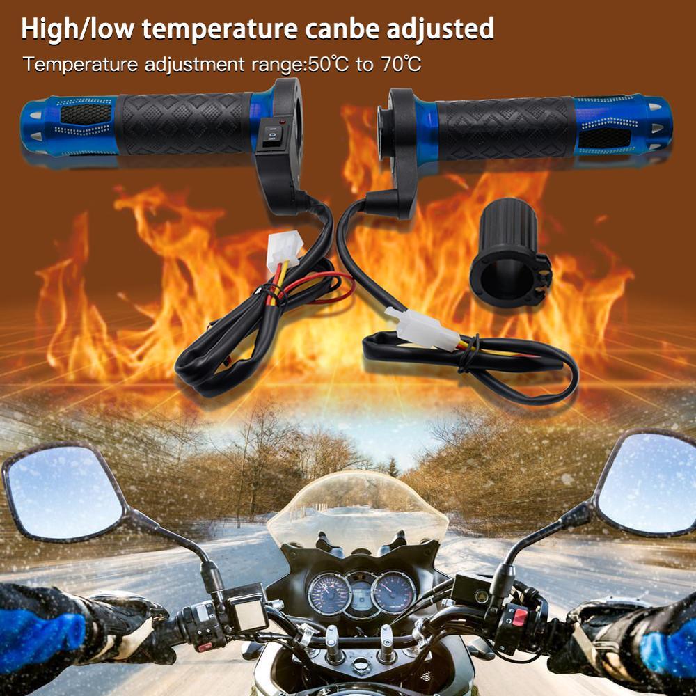 Motorcycle Heat Handle ATV Scooter Motorcycle Electric Heat Handle 22mm 7/8