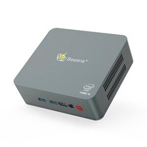 Beelink U57 Mini PC 8GB RAM 128GB 256GB SSD Windows 10 Media Player Intel Broadwell i5-5257U 2.4G 5G WiFi Bluetooth Smart TV Box