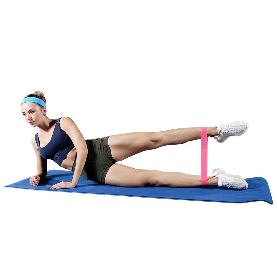 Treinamento de fitness goma exercício ginásio resistência