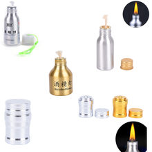 5 styles Portable Metal Mini Alcohol Lamp Heating Liquid Stoves Outdoor survival Camping Hiking Travel (Without Alcohol)(China)