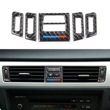 Наклейки из углеродного волокна для интерьера автомобиля крышка