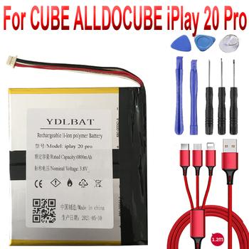 Bateria do tabletu CUBE ALLDOCUBE iPlay 20 Pro wymiana akumulatora li-po tanie i dobre opinie YDLBAT Powyżej 5000 mAh Kompatybilny ROHS CN (pochodzenie)