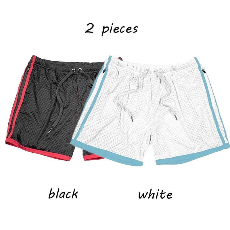2019 Nieuwe Effen kleur Zomer Jogging Sport mannen Shorts Fitness Quick Dry Workout Jogger Crossfit Gym Shorts Running Shorts Mannen