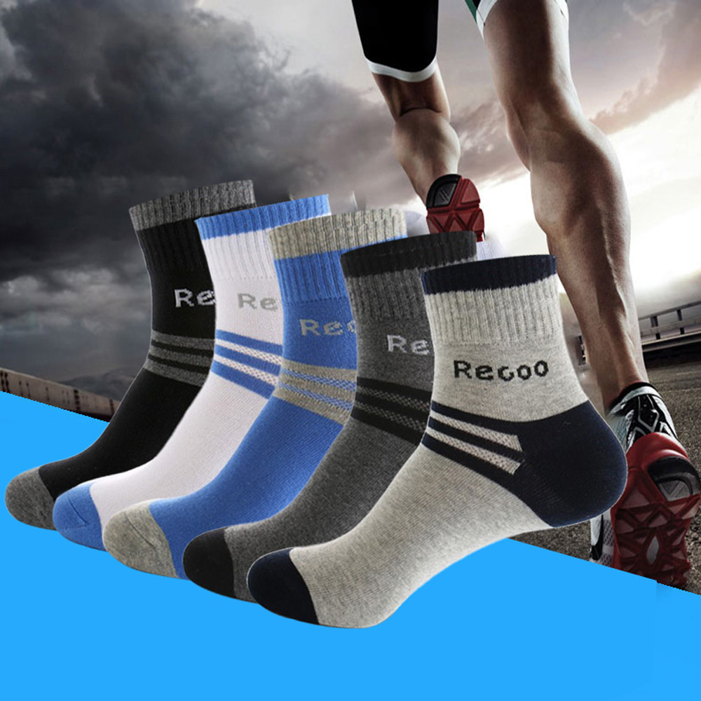 2020 New Socks Man Cotton Sport Socks Brand New Business Male Socks Men High Quality Leisure Long Socks For Gift Size 39-44