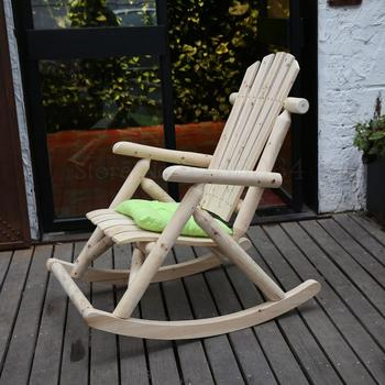 Solid Wood Rocking Chair  1