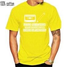 Unique Relationship 100% Cotton Tshirt Men Tops Hip Hop Tees Students Fun Letter Short Sleeve T Shirt Music T-shirts Fashionable
