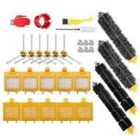 Горячая Распродажа фильтр & набор кистей Замена для Irobot Roomba 700 серии 760 770 780 790 Пылесос с hepa фильтр щетина и Flexib