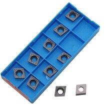 CCMT060204 CCMT09T304 CCMT09T308 CCMT120404 CCMT120408 HMP strumento Tornitura Interna di Tungsteno Inserti In Metallo Duro per acciaio inox
