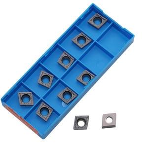Image 1 - Outil de tournage interne en carbure de tungstène, Inserts en acier inoxydable CCMT060204 CCMT09T304 CCMT09T308 CCMT120404 CCMT120408 HMP