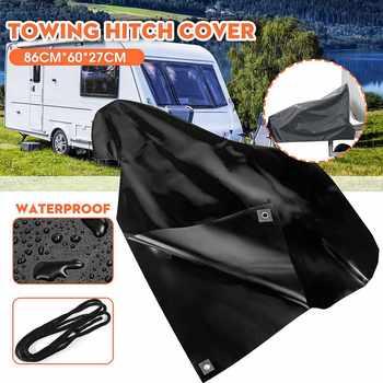 Cubierta de PVC para enganche de remolque de coche, cubierta de enganche para enganche de caravana, cierre de acople, protección contra el polvo, accesorios para coche