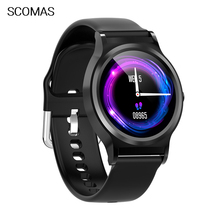 SCOMAS Smart Watch Blood Pressure Oxygen Fitness Bracelet Watch Heart Rate Monitor IP67 Men Women Sport Smartwatch for iphone