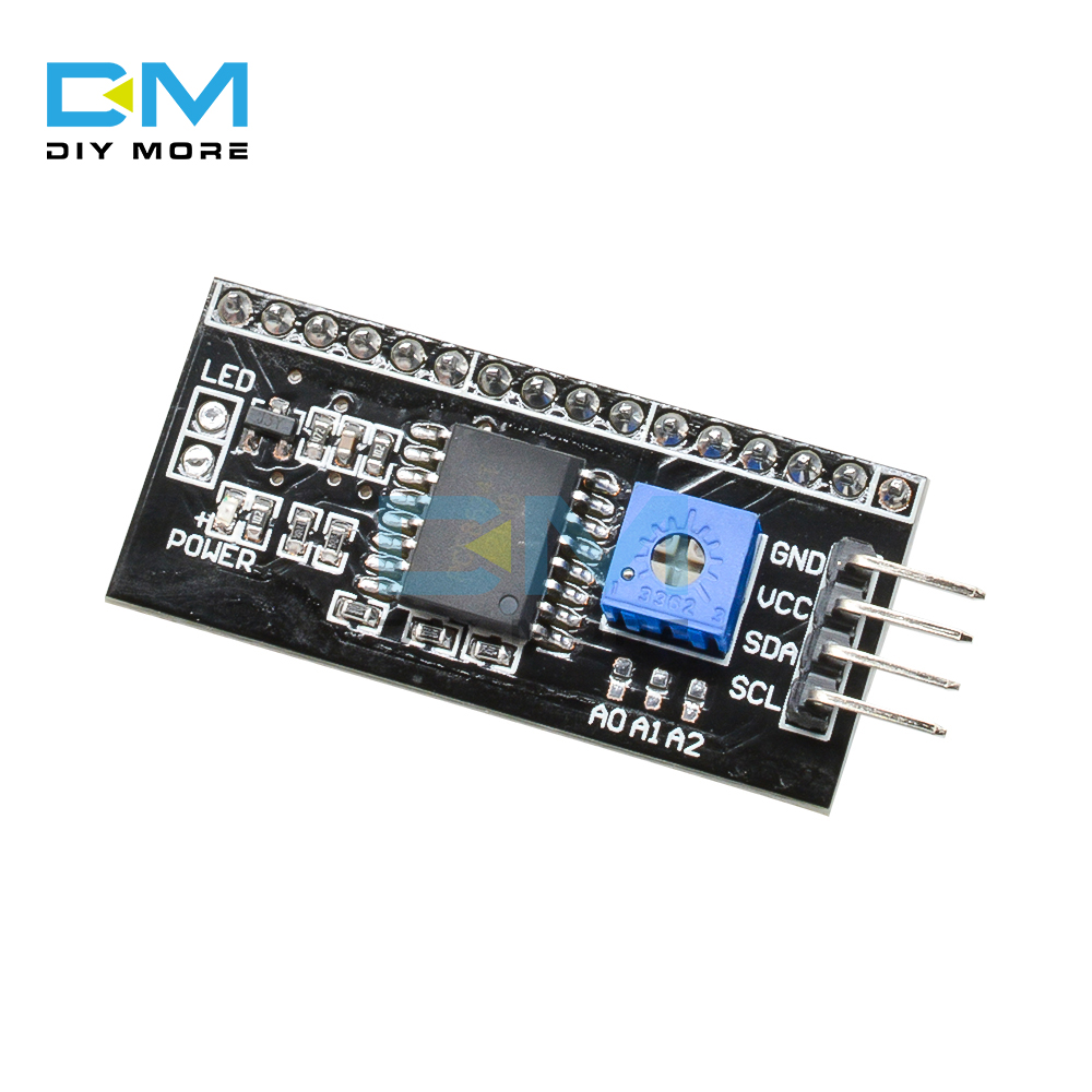 5PCS IIC I2C TWI SPI Serial Board Port Module For Arduino Converter Module <font><b>1604</b></font> 2004 LCD1602 Adapter Plate <font><b>LCD</b></font> Interface image