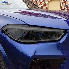 2 шт., тонировка автомобильных фар, Черная защитная пленка, виниловая защита, прозрачная наклейка из ТПУ для BMW X5 F15 M F85 G05, аксессуары