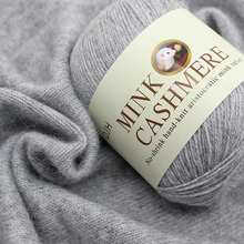 Best Quality Mink Wool Yarn Mongolian Soft Cashmere Yarns Hand-knitted Crochet for Knitting Ball Scarf Baby Knit sweat